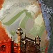 Badshahi Mosque 2 Poster by Catf