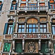 Baffo Balcony Poster