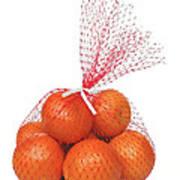 Bag Of Oranges Poster
