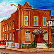 Bagg And Clark Street Synagogue Poster