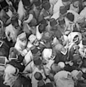 Baghdad Crowd Poster