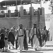 Baghdad Steet Scene Poster