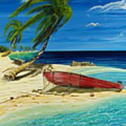 Bahama Beach Poster