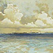 Bahama Island Light Poster