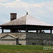 Bake House At Old Fort Niagara Poster