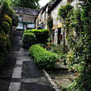 Bakewell Country Terrace Houses - Peak District - England Poster