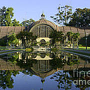 Balboa Park Botanical Building - San Diego California Poster