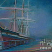 Balclutha In The Mist Poster