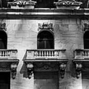 Balconies At Nyse  Poster