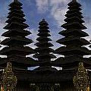Bali Water Temple Poster