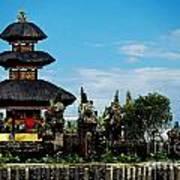 Bali Wayer Temple Poster