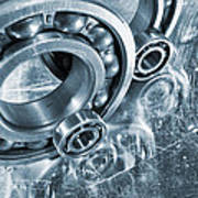 Ball Bearings And Engineering Poster
