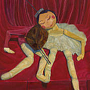 Ballerina And Partner Poster