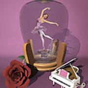 Ballerina In A Bottle - Heaven Poster