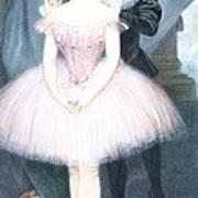 Ballerina In Preparation Poster