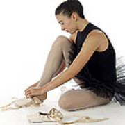 Ballerina   Poster by Stephen Norris