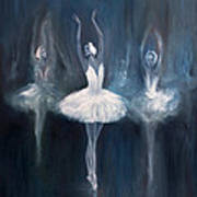 Ballerina. Swan Lake. Poster