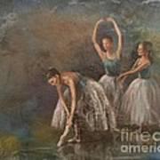 Ballet Dancers Poster