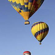 Balloon Fiesta 2012 Poster by Mike McGlothlen