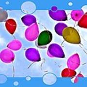Balloon Frenzy Poster