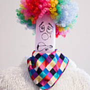 Balloon Heads - Derpie The Clown Poster