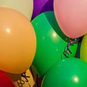 Balloons Horizontal Poster