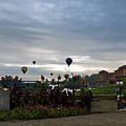 Balloons Over Lewiston Poster