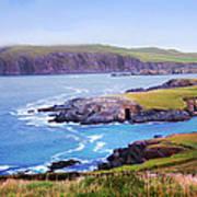 Ballyferriter Co. Kerry Ireland Poster by Jo Collins