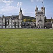 Balmoral Castle Scotland Poster
