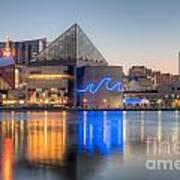Baltimore National Aquarium At Dawn IIi Poster