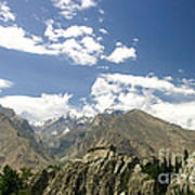 Baltit Fort In Hunza In Pakistan Poster