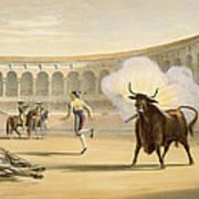 Banderillas De Fuego, 1865 Poster