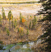 Banff Spring Runoff Poster
