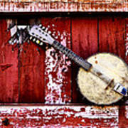 Banjo Mandolin - American Music Poster