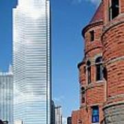 Bank Of America Plaza Dallas Poster
