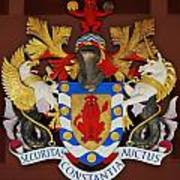 Bank Of Bermuda Coat Of Arms Poster