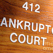 Bankruptcy Court Poster
