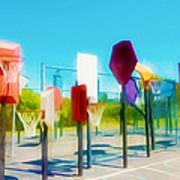 Bankshot Basketball 2 Poster by Lanjee Chee
