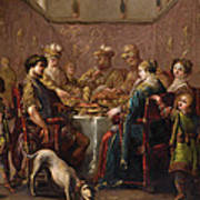 Banquet Scene Poster
