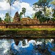 Banteay Srei - Angkor Wat - Cambodia Poster