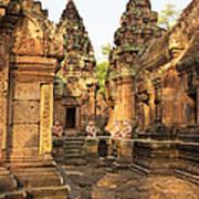 Banteay Srei, Cambodia Poster