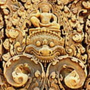 Banteay Srei Carving 01 Poster