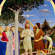 Baptism Of Christ - Oil On Canvas Poster