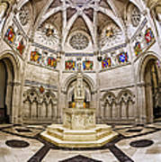 Baptistry At Saint John The Divine Cathedral Poster