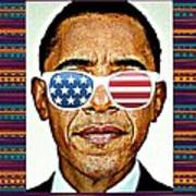 Barack Obama Poster by Nuno Marques