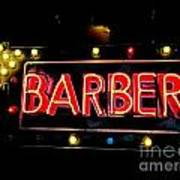 Barber This Way Poster