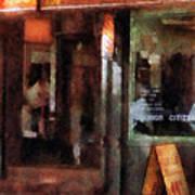 Barber - West Village Barber Shop Poster