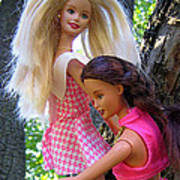 Barbie's Climbing Trees Poster