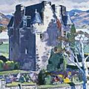 Barcaldine Castle Poster