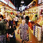 Barcelona Market Poster